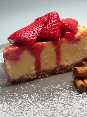 New York cheesecake alle fragole