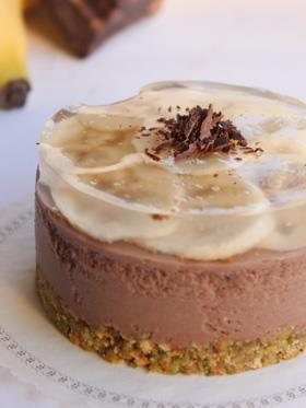 Cheesecake cioccolato e banana